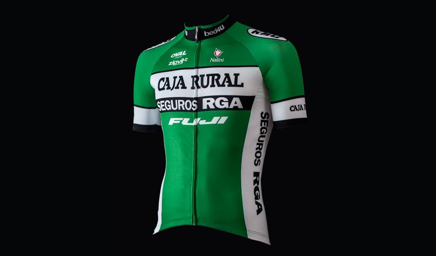 Caja Rural-Seguros RGA presenta su nuevo maillot Nalini