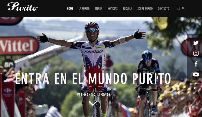 Purito Rodríguez presenta su nueva página web