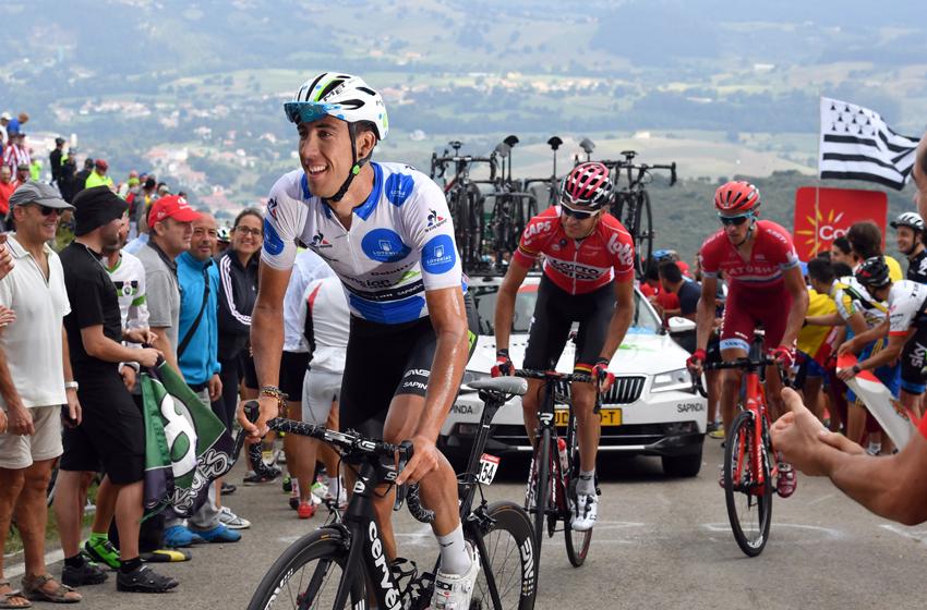 Omar Fraile, con el doblete Giro-Vuelta en mente de cara a 2017