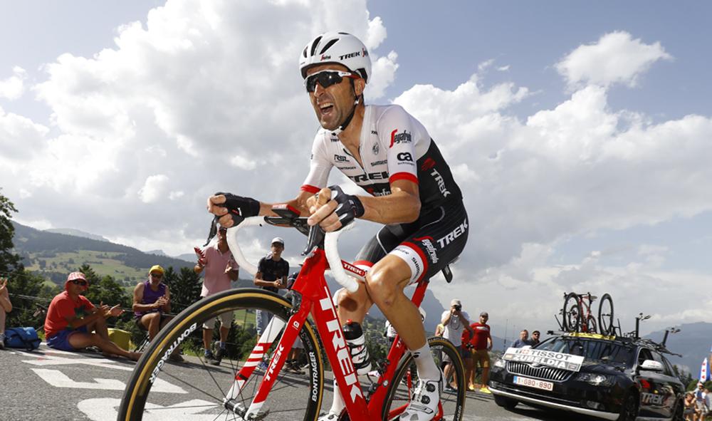 Haimar Zubeldia: «Veo a Contador más maduro y sosegado»
