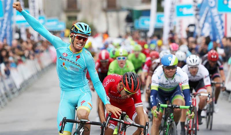 Luis León Sánchez, Giro y Vuelta con Aru en 2017