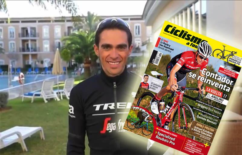 Contador, el chico de portada