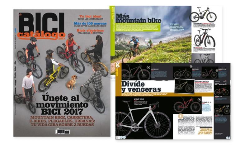 Bicicatálogo 2017 ya a la venta