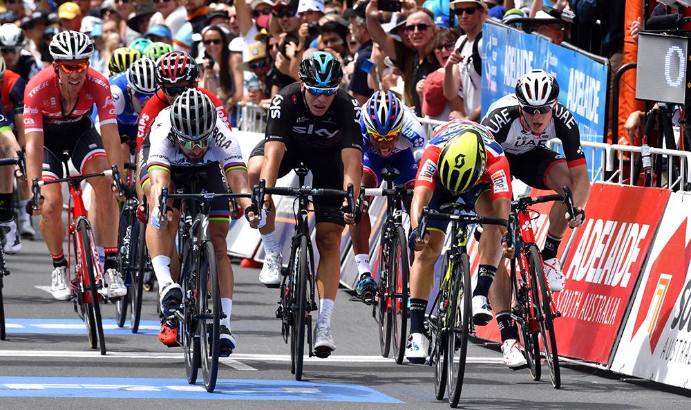 Ewan cierra el Tour Down Under con su cuarta victoria