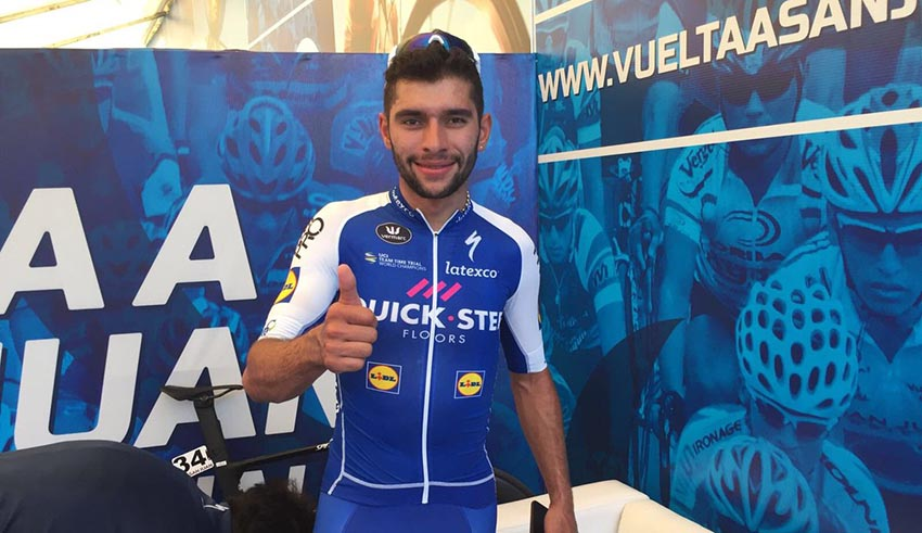"""Fernando Gaviria: """"Todos los ciclistas se preparan para ganar, nadie para perder"""""""