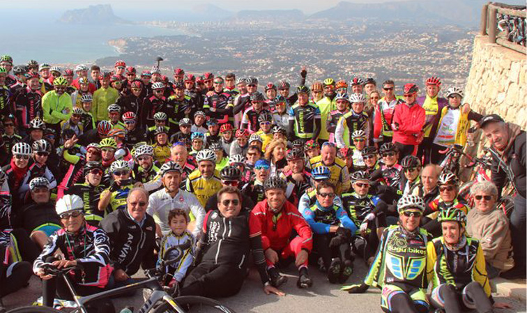 """XII Campus de Ciclismo Eduardo Chozas """"Actívate"""" Calpe 2017"""