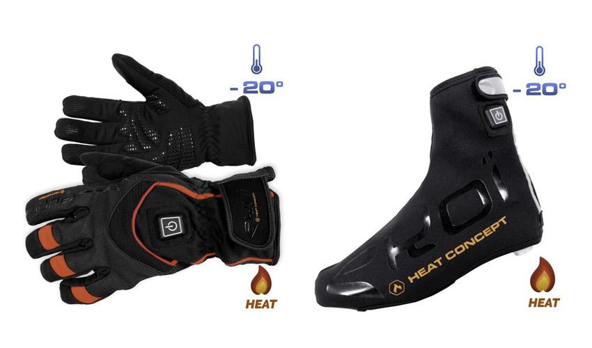 Ekoi presenta los nuevos guantes y cubre zapatos Heat Concept