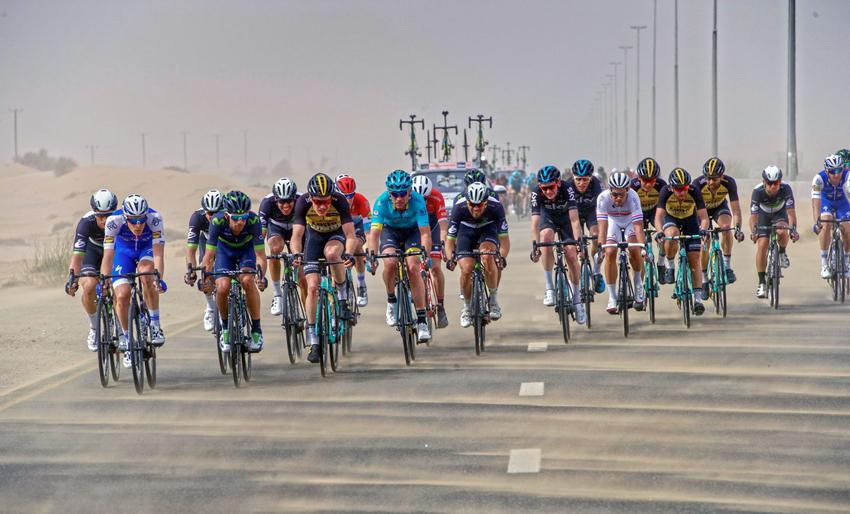 Suspendida la cuarta etapa del Dubai Tour