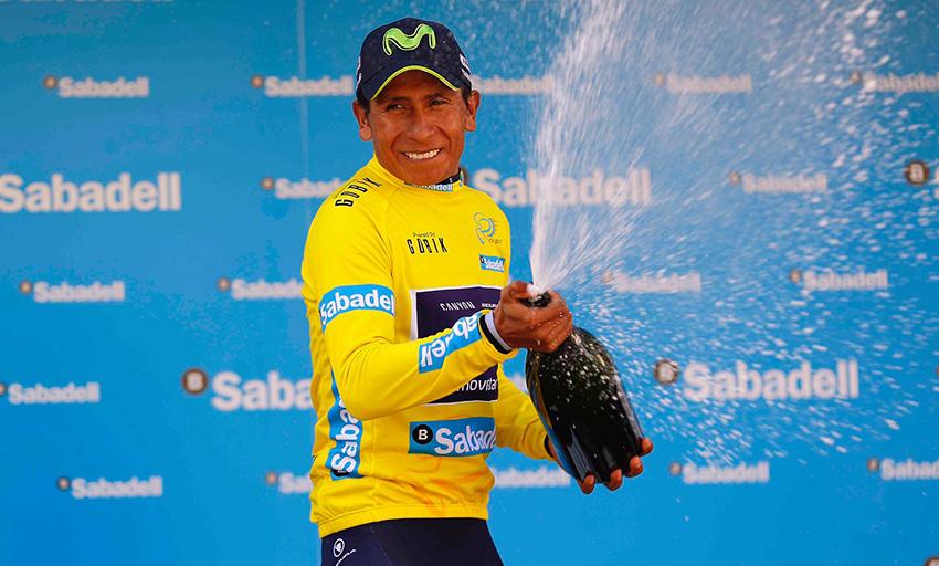 """Quintana, tras su victoria en la Volta a la Comunitat Valenciana: """"Estamos en el camino correcto"""""""