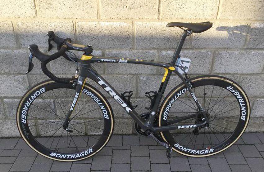 Subastada por 16.100 euros una de las bicicletas más preciadas de Fabián Cancellara