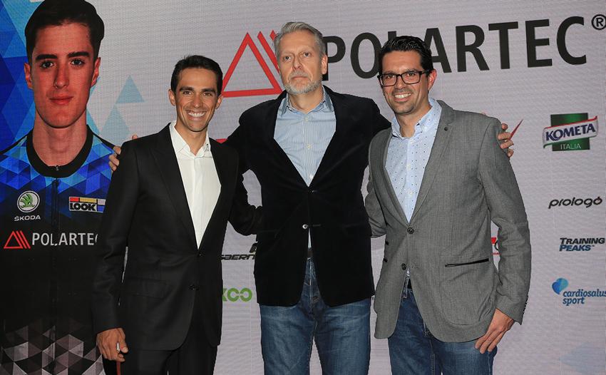 """Alberto Contador: """"Los datos son muy buenos"""""""