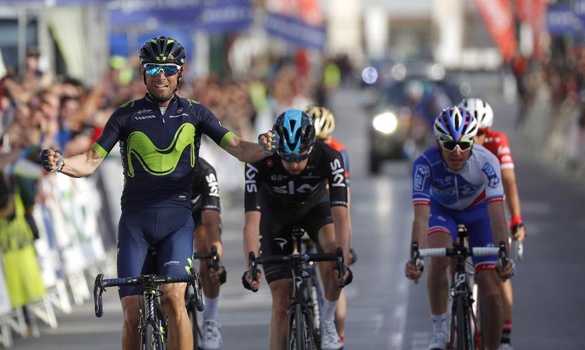 Valverde reina en un gran espectáculo