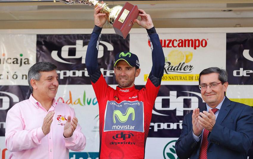 """Alejandro Valverde: """"No podíamos empezar mejor"""""""