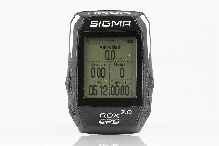 Test: Ciclocomputador GPS Sigma ROX 7.0