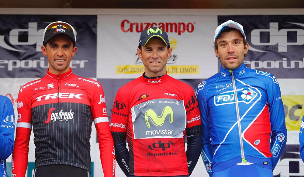 Valverde gana su quinta Vuelta a Andalucía
