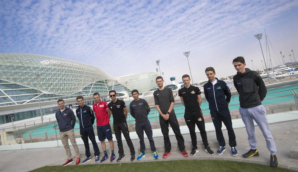 Previo: Abu Dhabi Tour 2017
