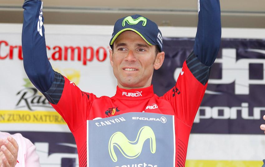 Valverde, con fiebre, se pierde la París-Niza