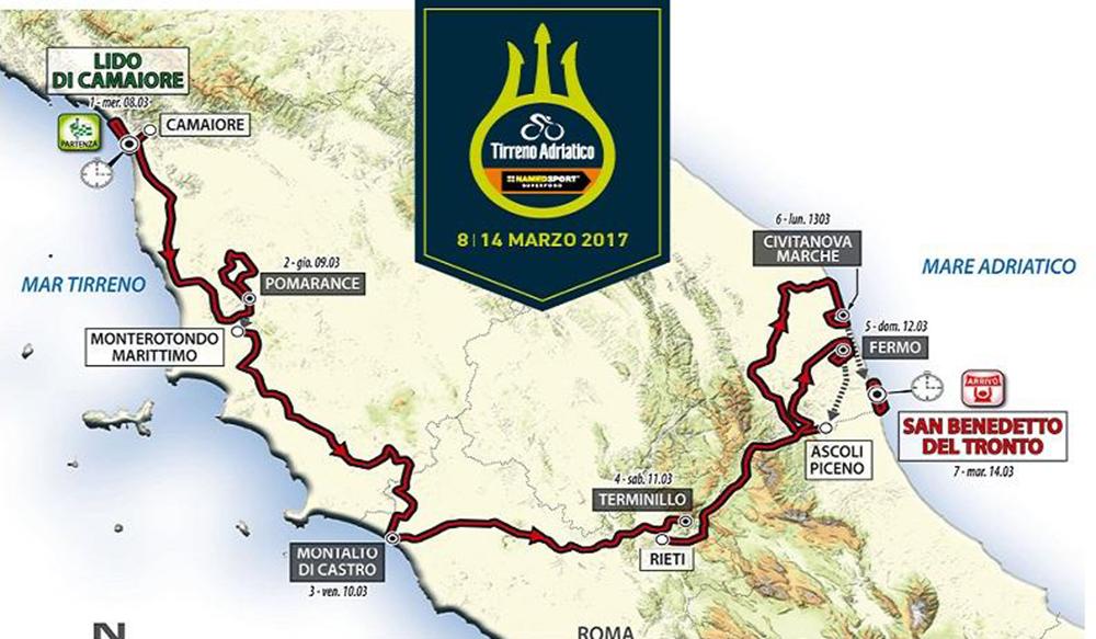 Previo: Tirreno-Adriático 2017