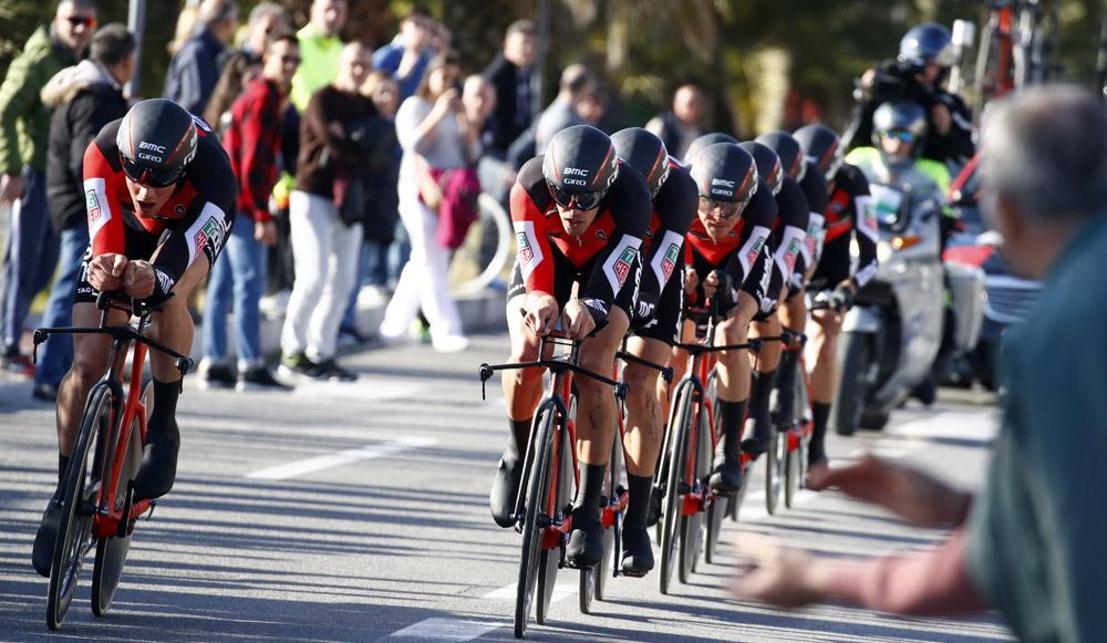 Quintana empieza con buen pie; Triunfo del BMC
