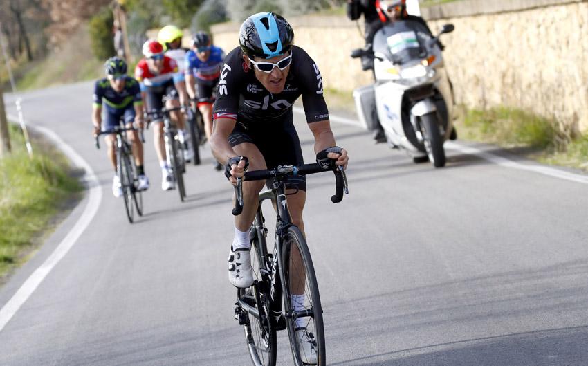 """Tirreno / Geraint Thomas: """"El ataque no estaba planeado"""""""