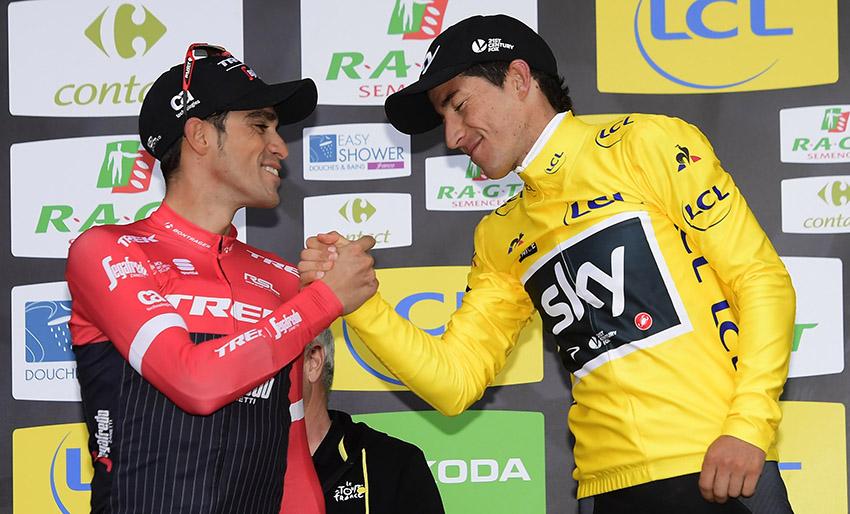 """Contador: """"Me siento afortunado y orgulloso de ser protagonista en estas carreras"""""""