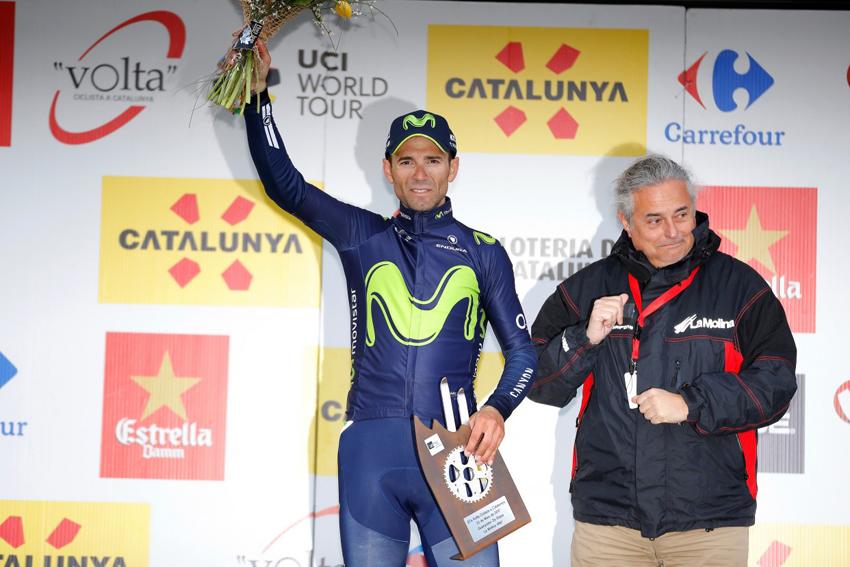 """Valverde: """"Este tipo de llegadas me van muy bien"""""""