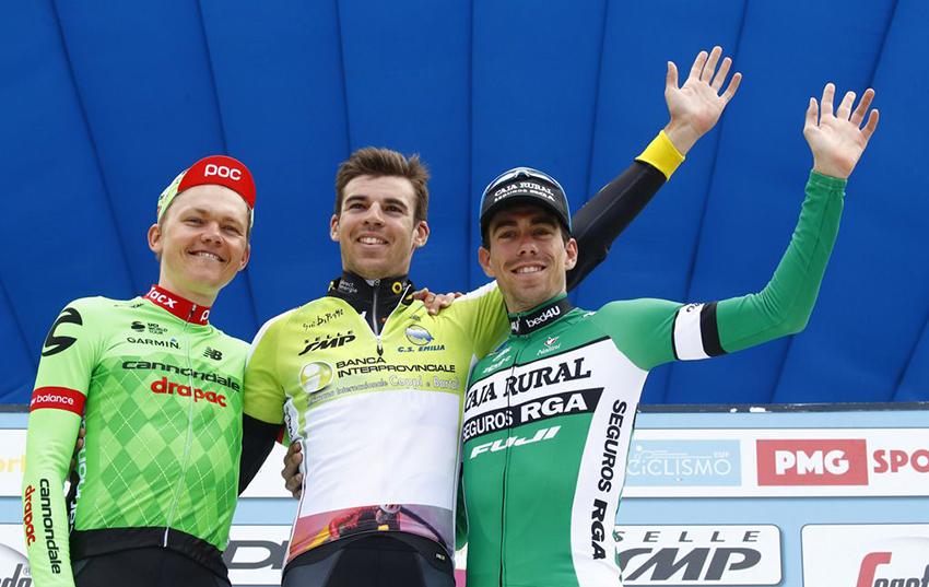 Jaime Rosón certifica su podio en la Settimana Coppi e Bartali