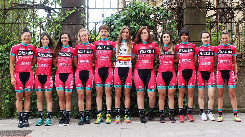 Bizkaia-Durango se presenta antes de correr Flandes y Noja este fin de semana