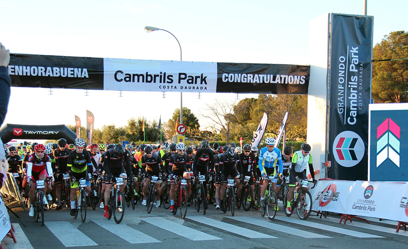 Gran Fondo Cambrils Park bate su récord con más de 2.500 ciclistas