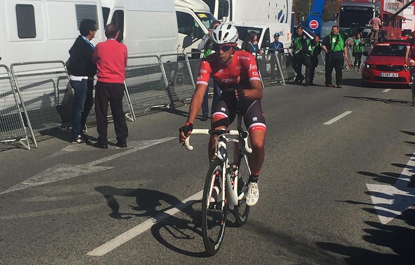 """Audio / Contador: """"Dentro de lo que supone caerte, sin ningún problema"""""""