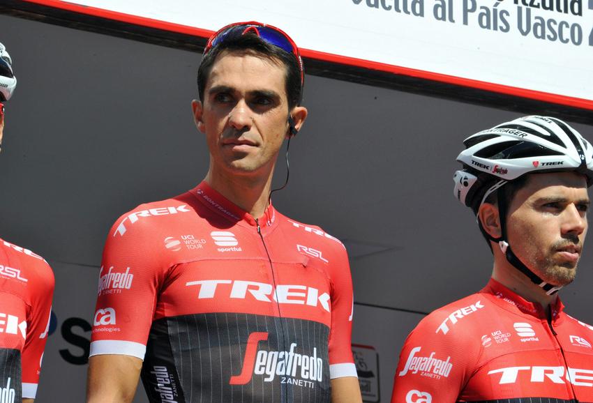 """Vuelta al País Vasco / Contador: """"El pinchazo lo he subsanado sin problema"""""""