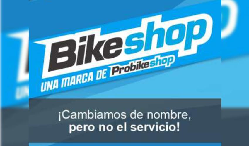 ¡Probikeshop España pasa a ser Bikeshop!