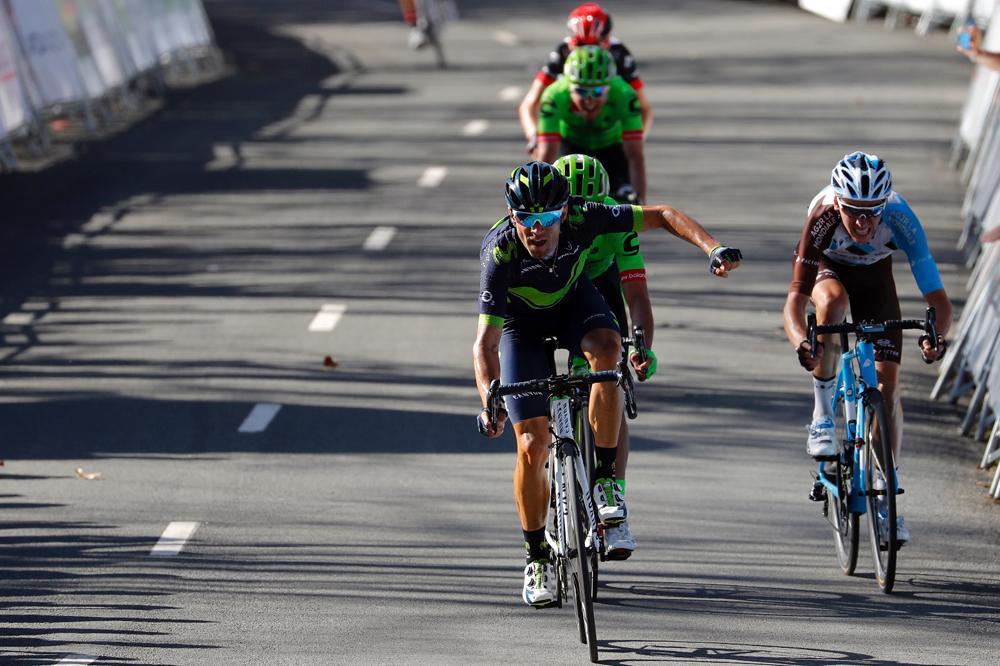Alejandro Valverde gana en Arrate