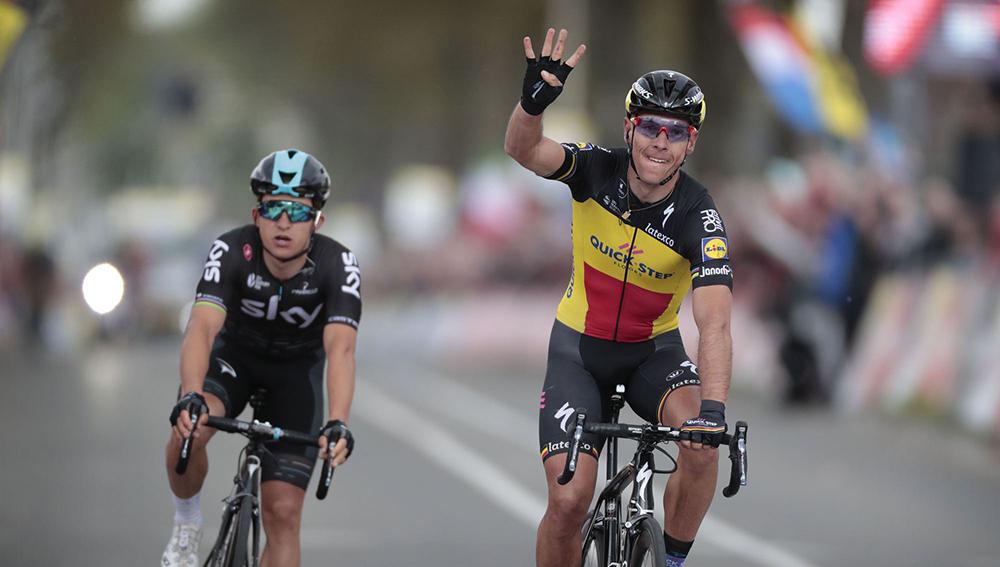 Gilbert, rey por cuarta vez en la Amstel