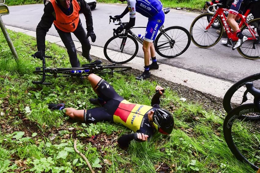 Gilbert se perderá la Flecha Valona, Lieja y el Giro de Italia