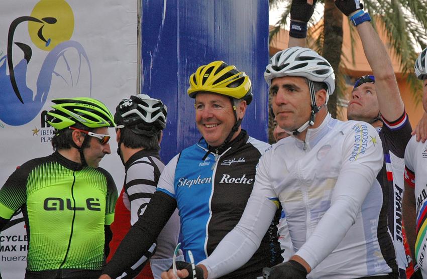 Stephen Roche será homenajeado en la Mallorca 312