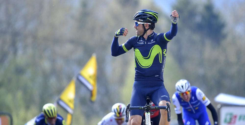 Alejandro Valverde, señor del Muro de Huy