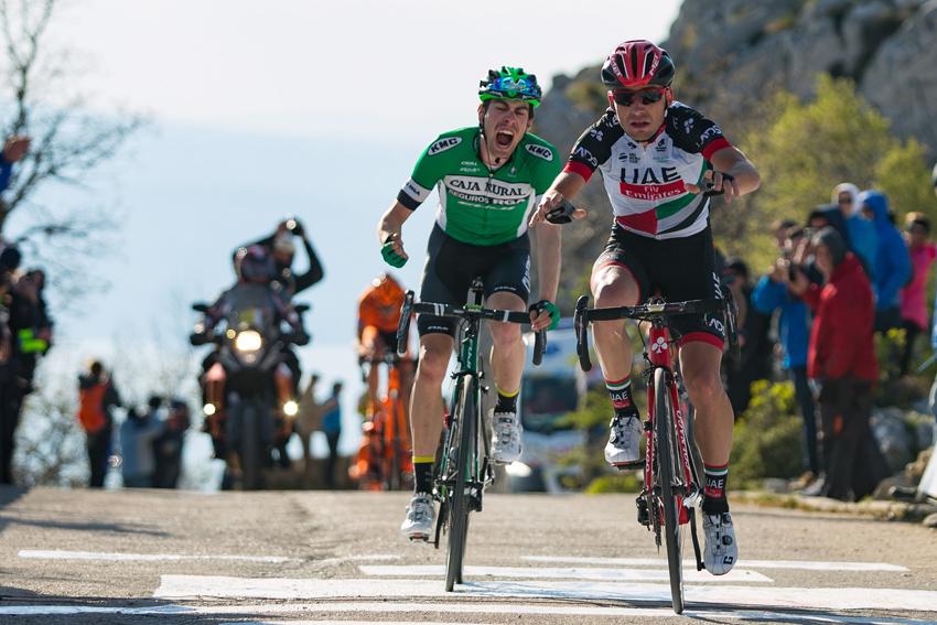 Jaime Rosón roza la gloria en la 2º etapa del Tour de Croacia