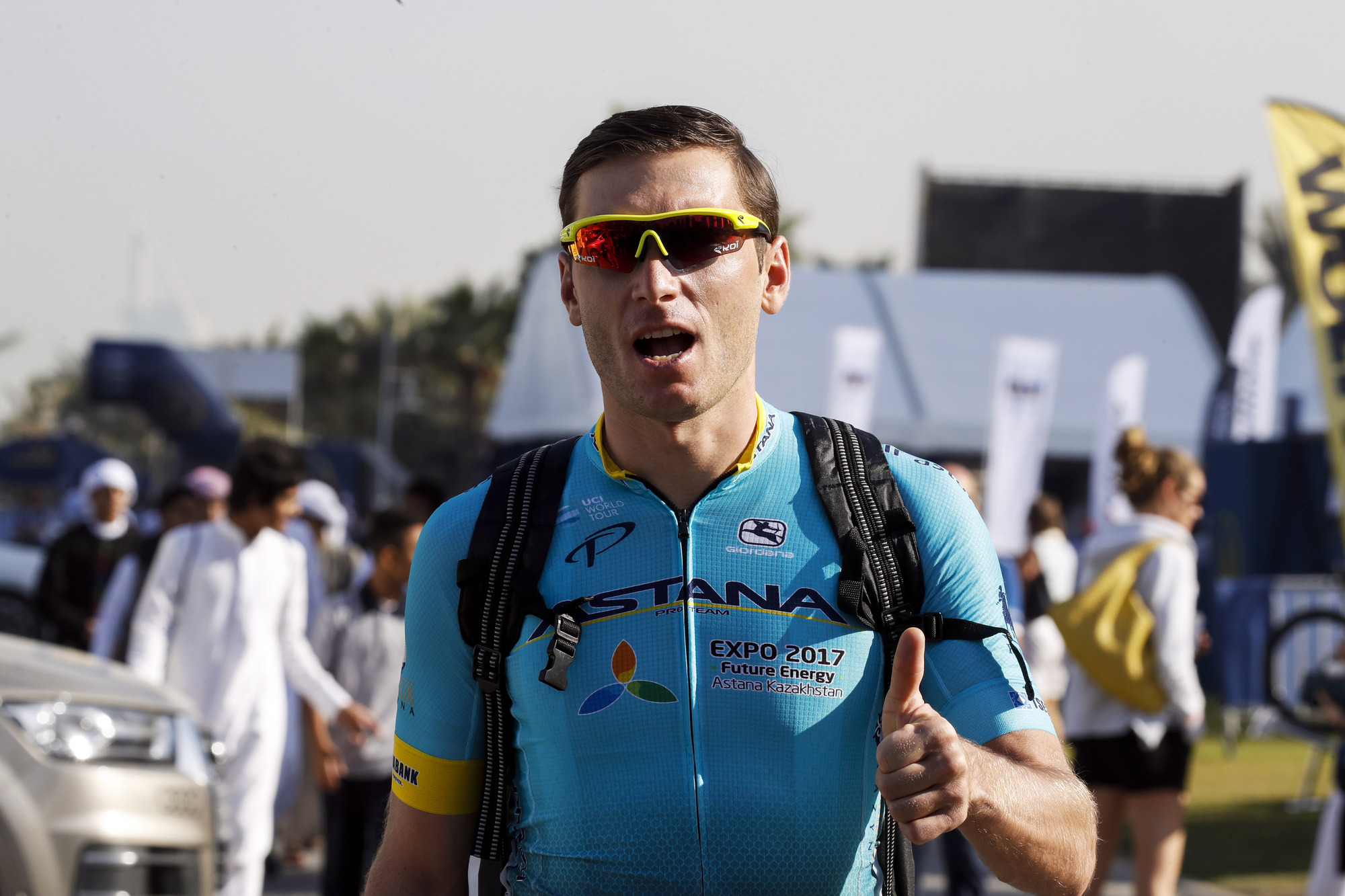 La UCI sanciona durante 45 días a Grivko por su puñetazo a Kittel