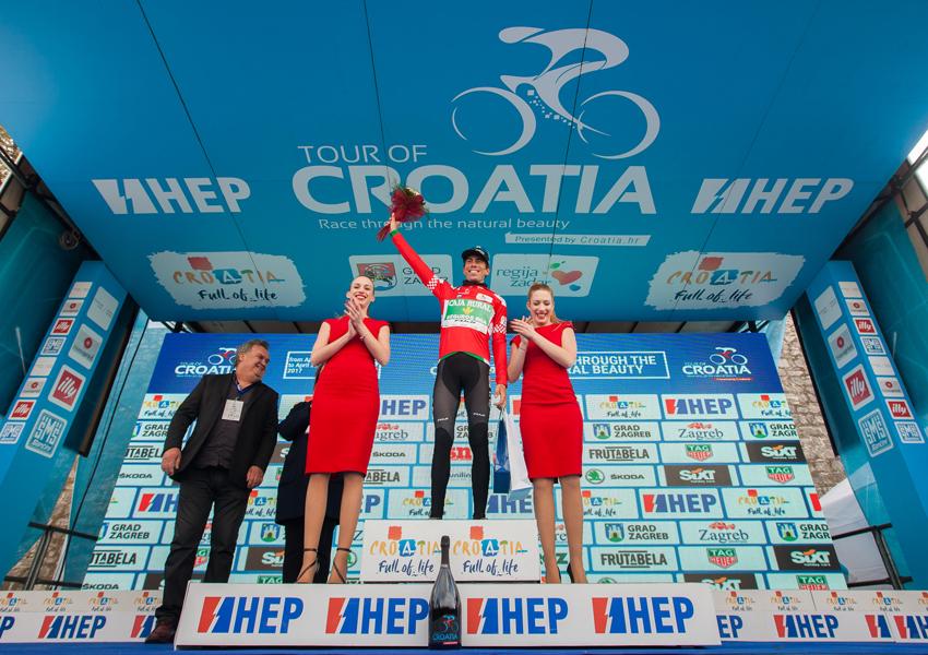 Jaime Rosón, nuevo líder del Tour de Croacia