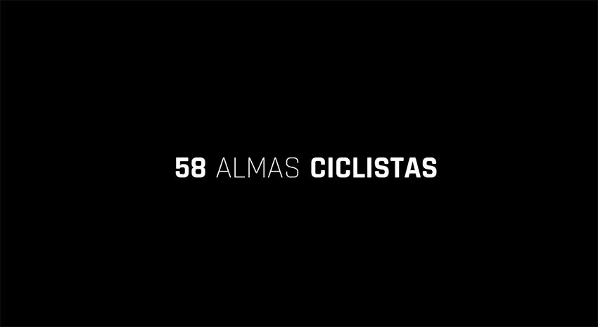 Almas ciclistas, una emotiva campaña en favor de la seguridad vial de los ciclistas