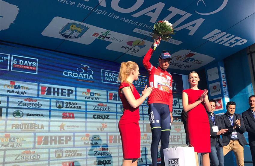 Tour de Croacia / Rosón cede el liderato a Nibali