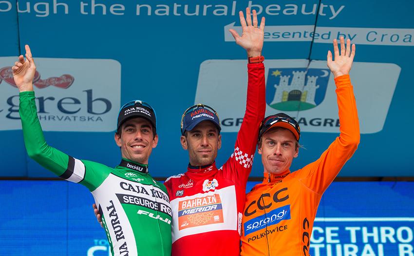 Nibali le arrebata la general del Tour de Croacia a Rosón