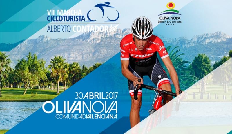 El domingo se celebra en Oliva la VII Marcha Alberto Contador