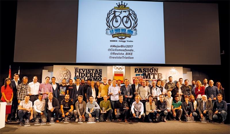 Entregados los Premios Bici del Año 2017
