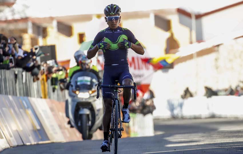 Quintana, al Giro pasando por Asturias