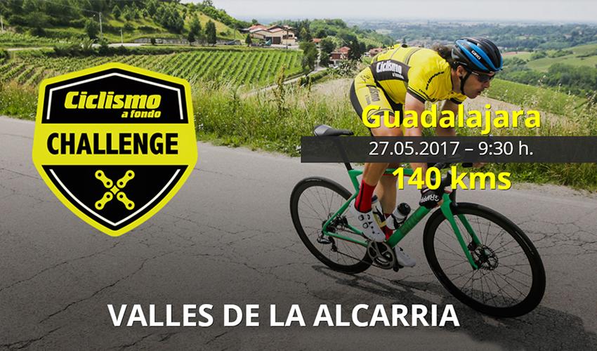 """Presentado el recorrido de la Ciclismo a Fondo Challenge """"Valles de la Alcarria"""""""
