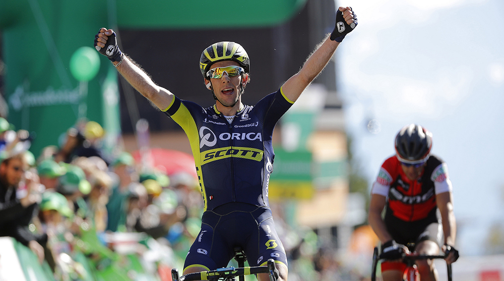 Yates bate a Porte para hacerse con la etapa y el liderato