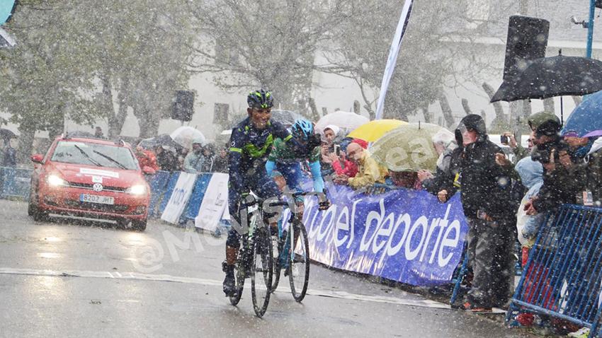 Quintana gana en El Acebo pero no se hace con el liderato