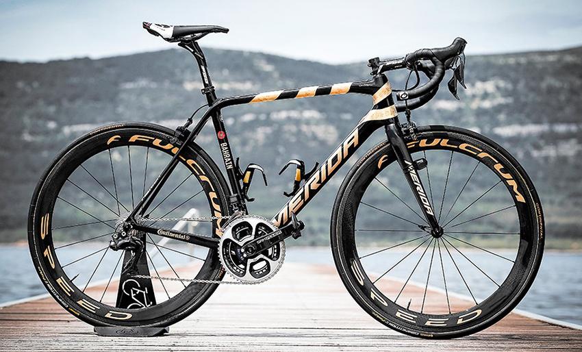 La espectacular Merida Scultura de Nibali para el Giro